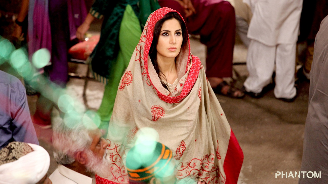 Katrina Kaif Different Look In Phantom