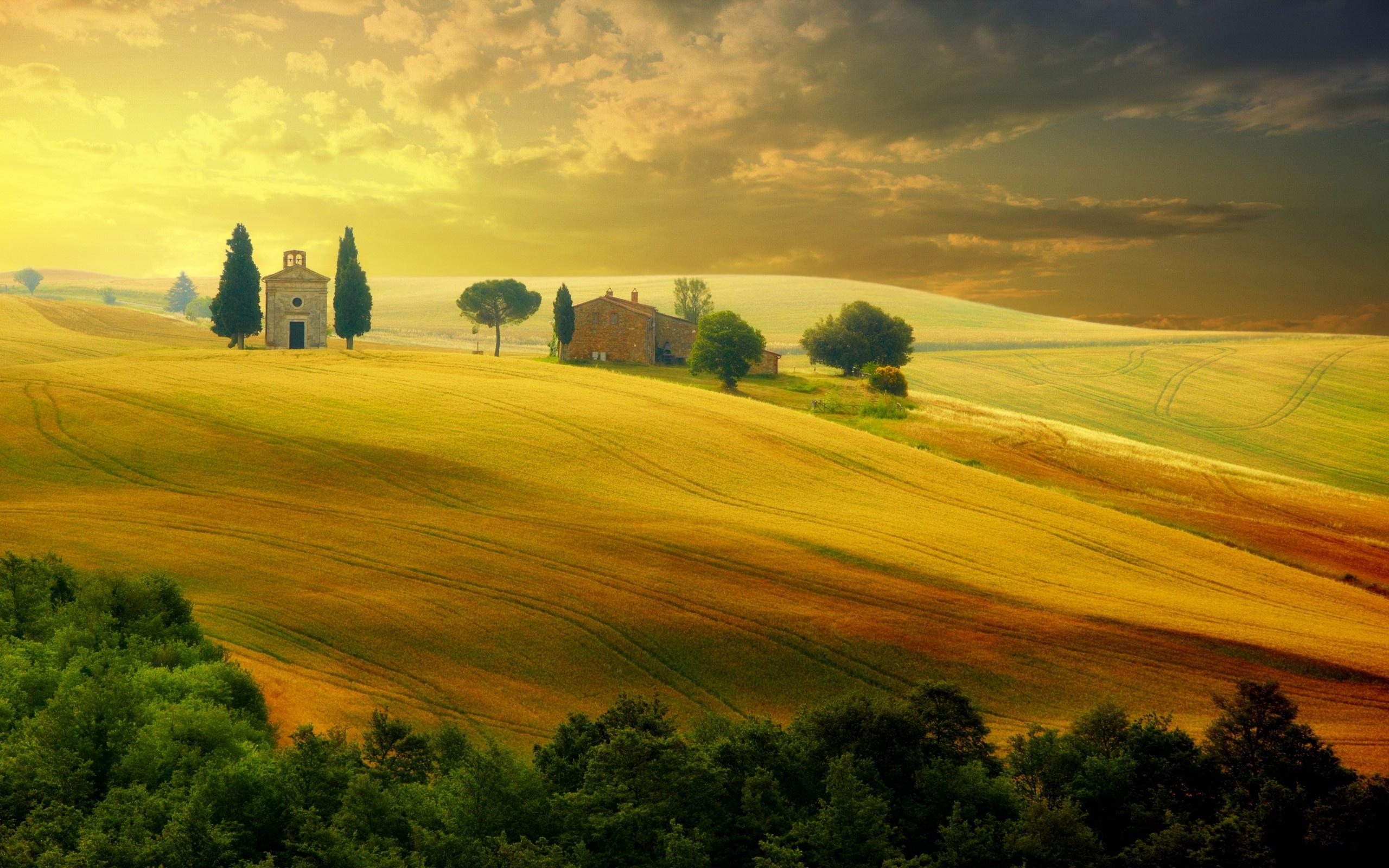 summer sunset landscape wallpaper - photo #47
