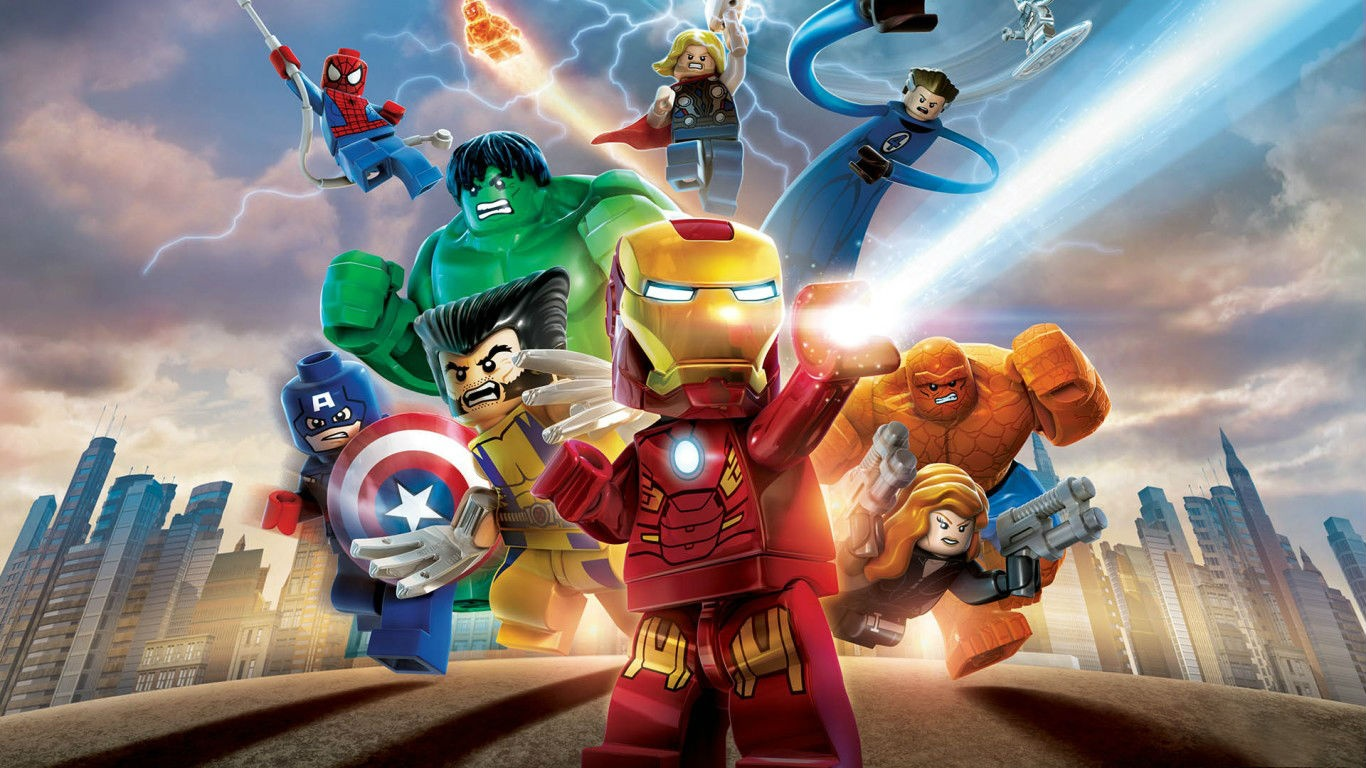 lego marvel heroes wallpaper - photo #5