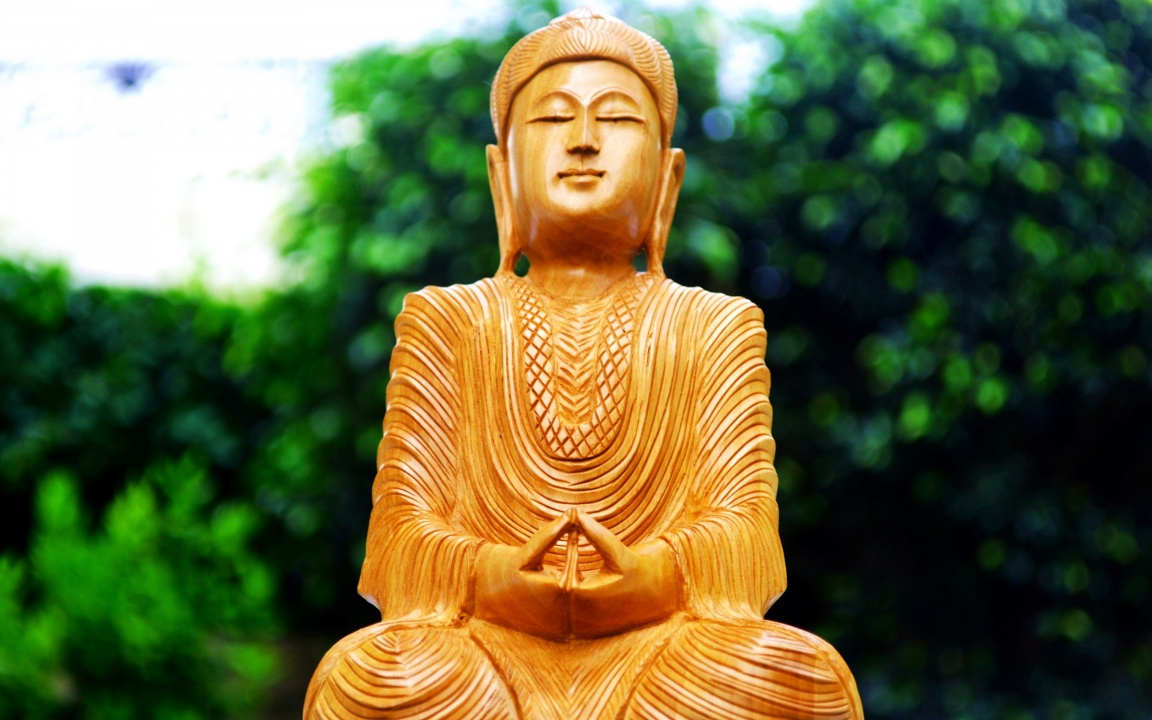 Lord Buddha Meditating Sitting