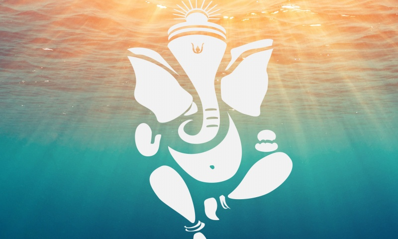 Lord Ganesha Deep Ocean Water
