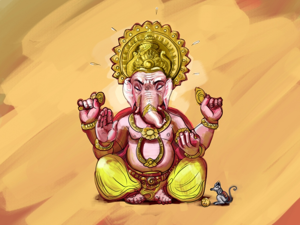 Lord Ganesha Drawing Download Close