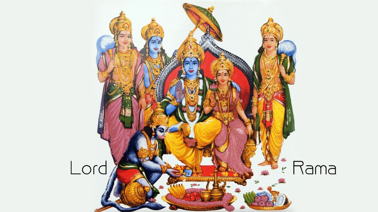 Lord Rama Laxman And Janki