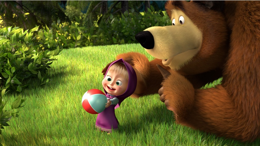 Masha And The Bear Wallpaper Cute cute masha and the bear 7025 1920 x