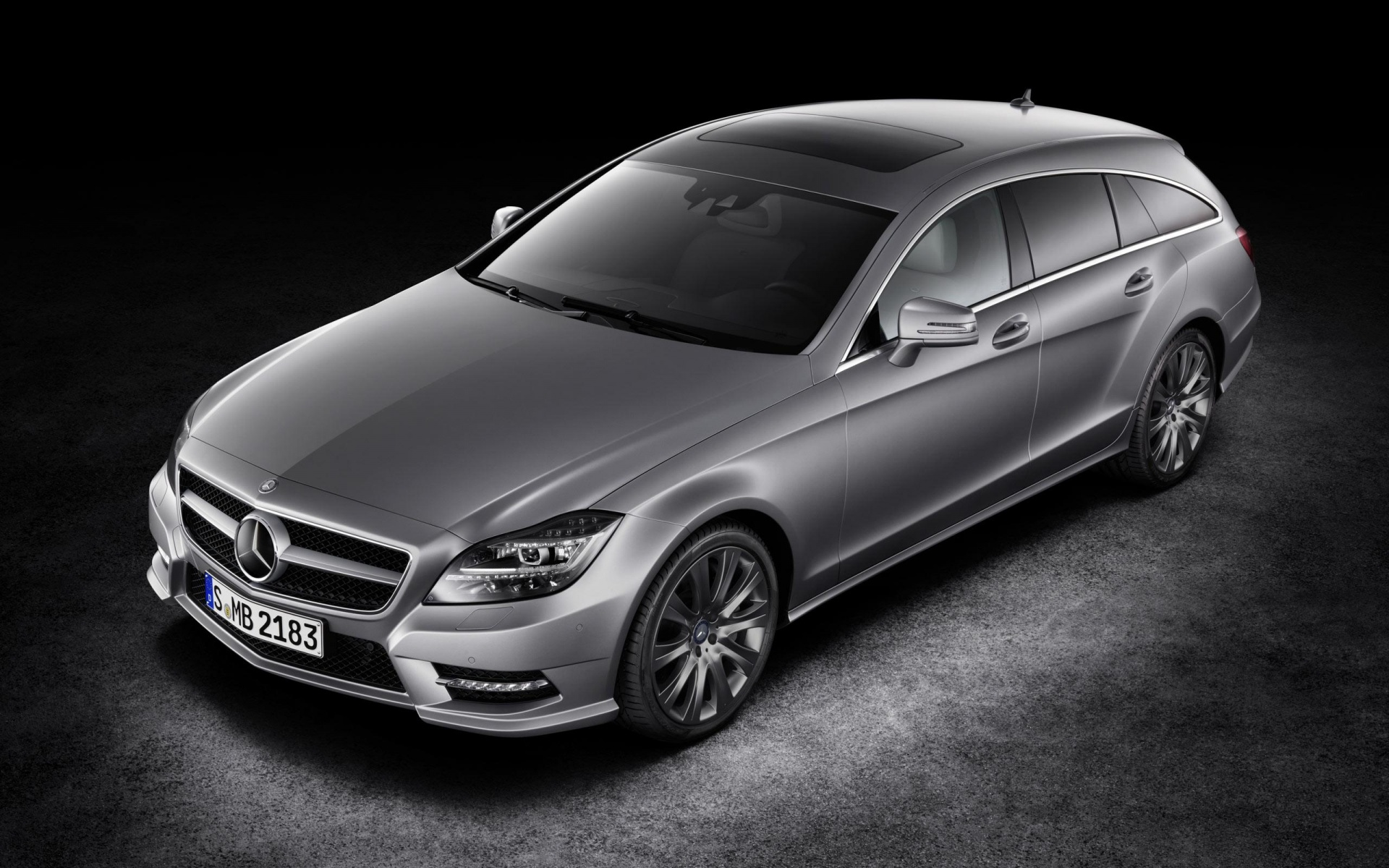 Mercedes Benz CLS Class Black Car