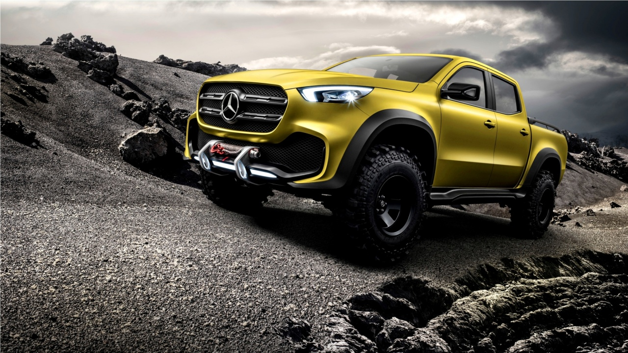 Mercedes-Benz Concept X-Class Powerful Adventurer 2016