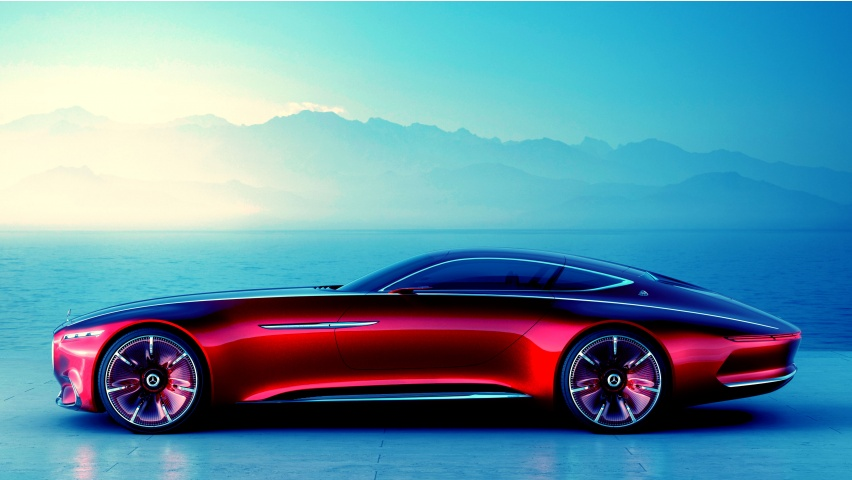 Mercedes-Benz Vision Maybach 6 Concept 2016 | 852 x 480