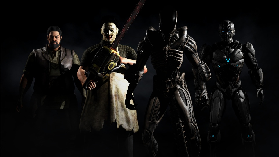 Mkx Tri Borg Alien Xenomorph Leatherface And Bo Rai Cho