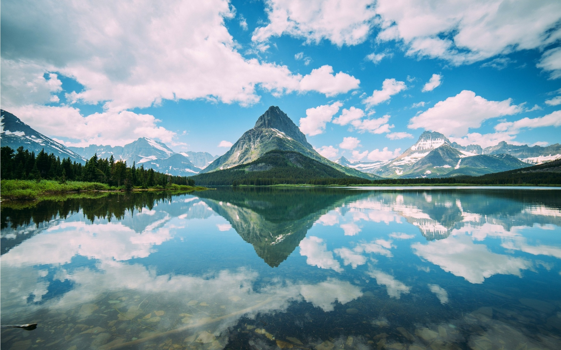 Mountain Lake Reflection