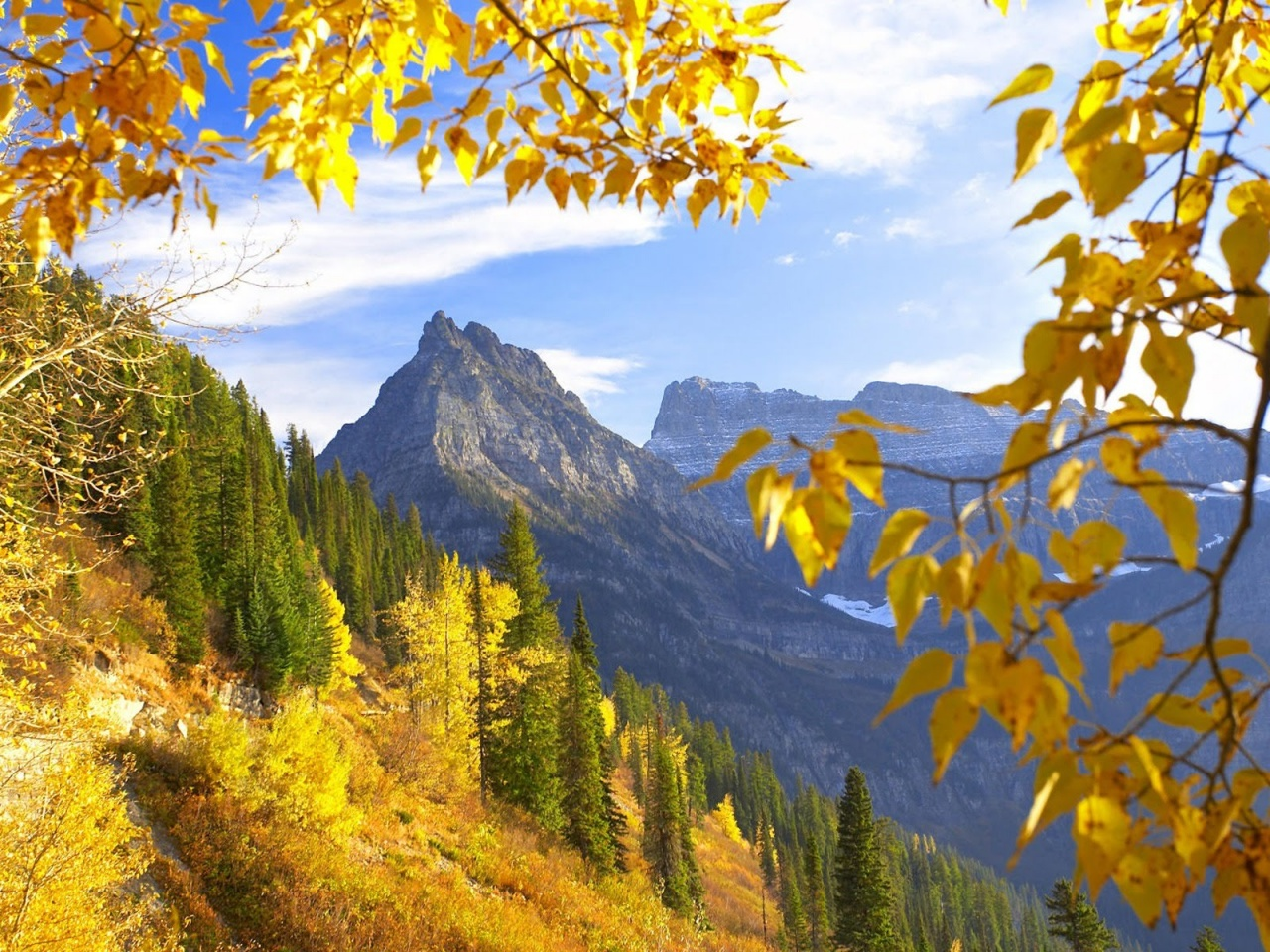 Mountains Autumn