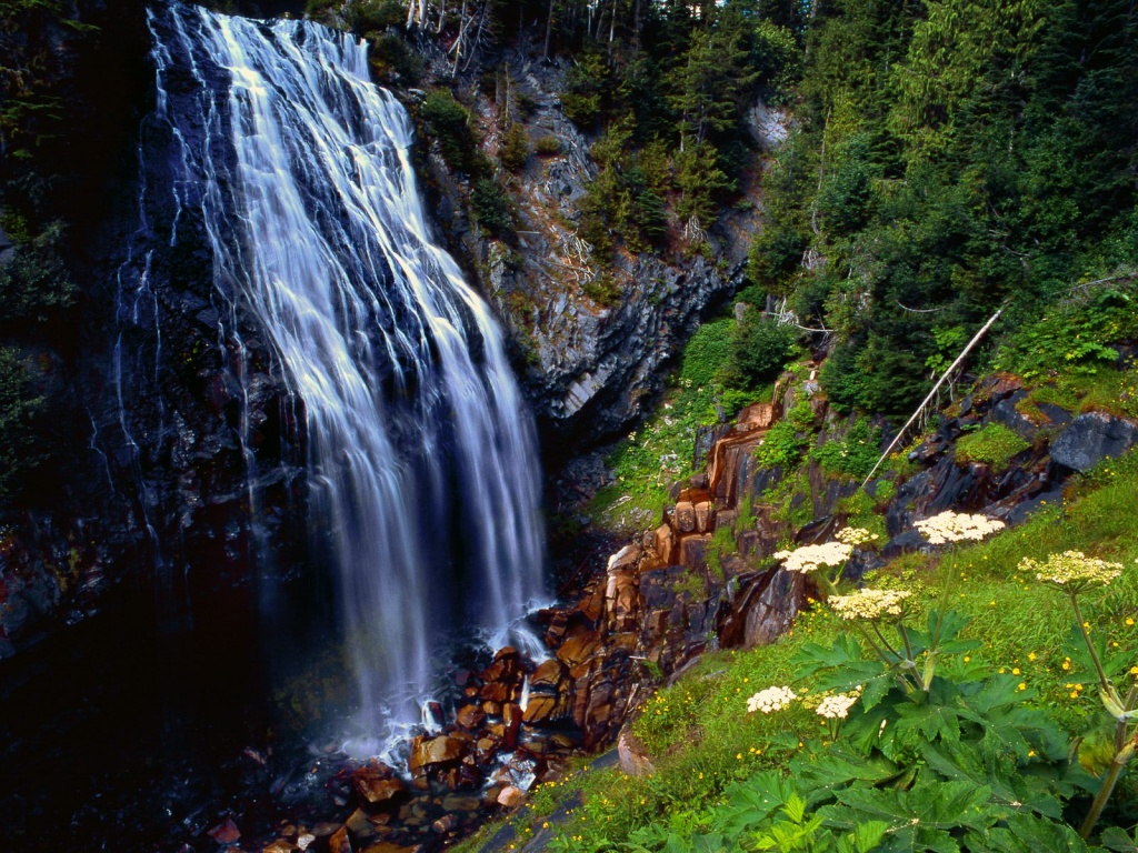Narada Falls Mount Rainier National