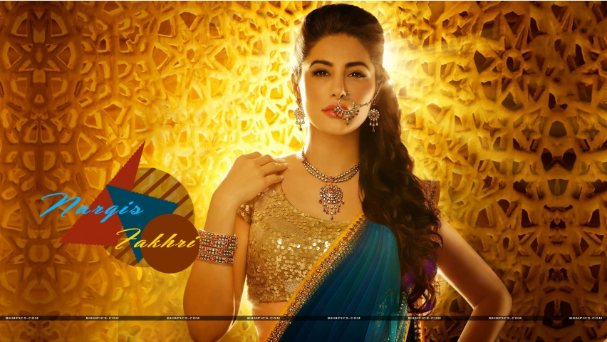 Nargis Fakhri Gorgeous Look