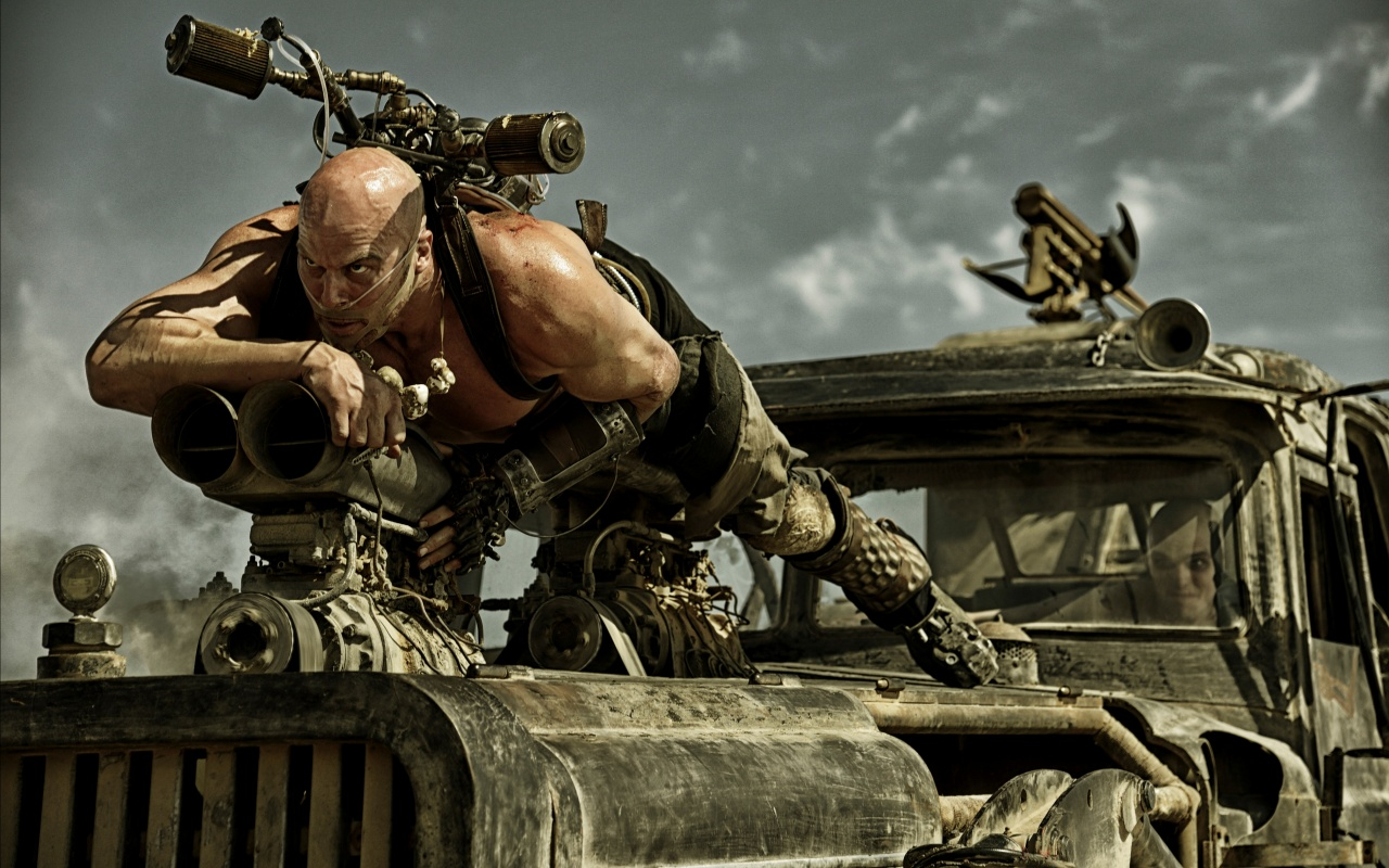 Nathan Jones Mad Max: Fury Road 2015