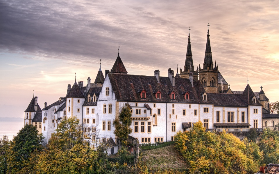 Neuchatel Castle Switzerland