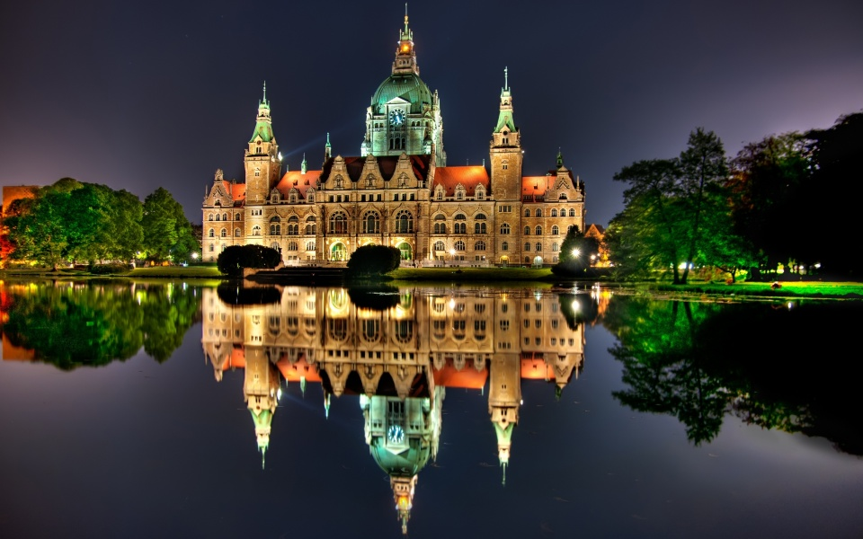 New City Hall Hanover Germany