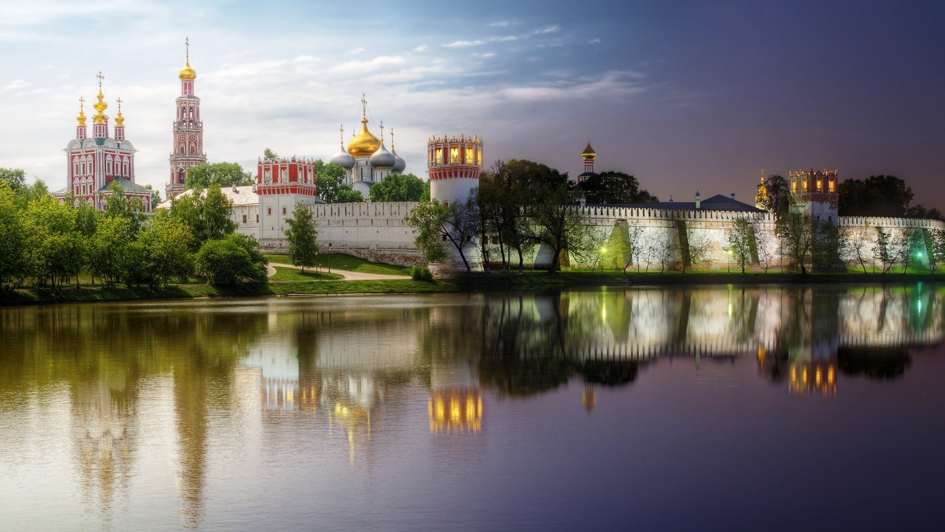 Novodevichy Convent In Summer Wallpapers - 1920x1080 - 561698