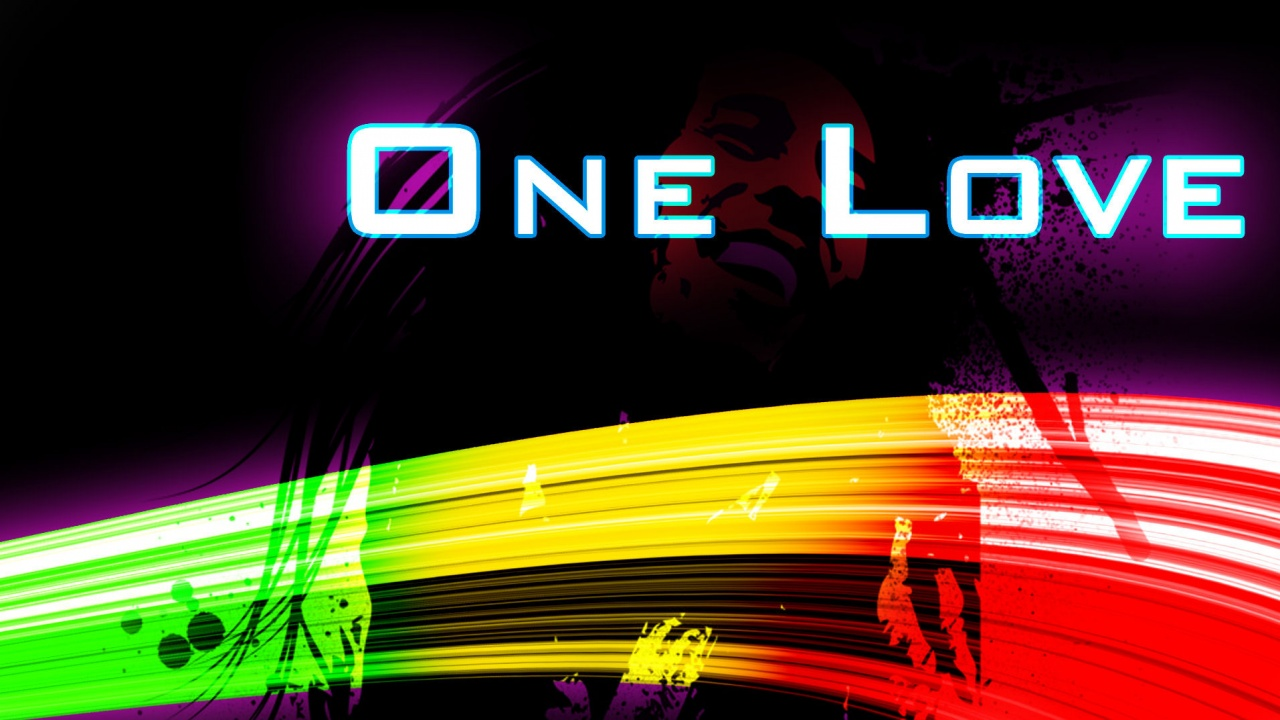 Love Wallpaper 720x1280 : One Love Wallpapers - 1280x720 - 232236