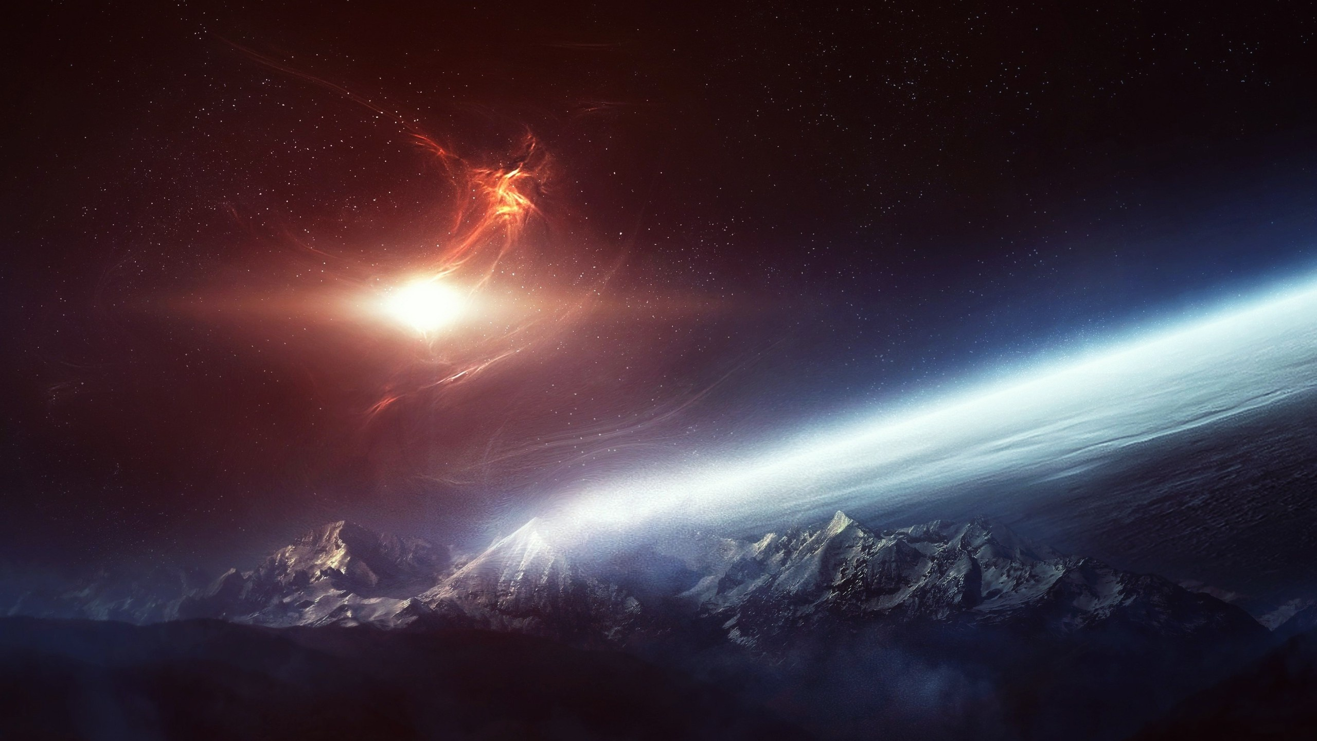 Outer space wallpapers 2560x1440 687307 - Space 2560 x 1440 ...