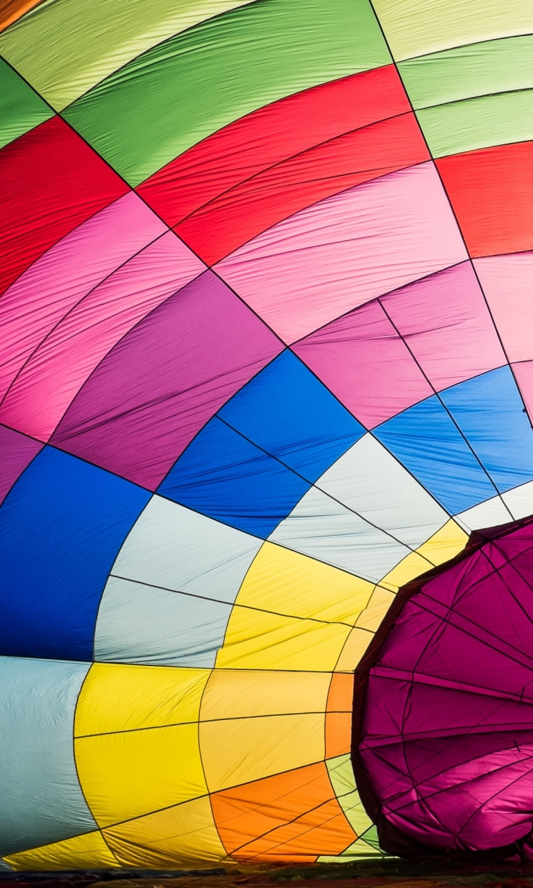 Parachute Color Background