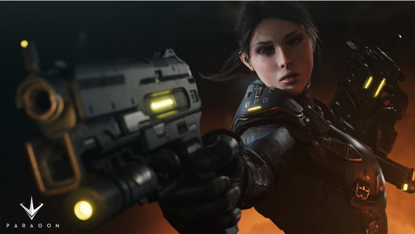 Paragon New Hero Lt. Belica