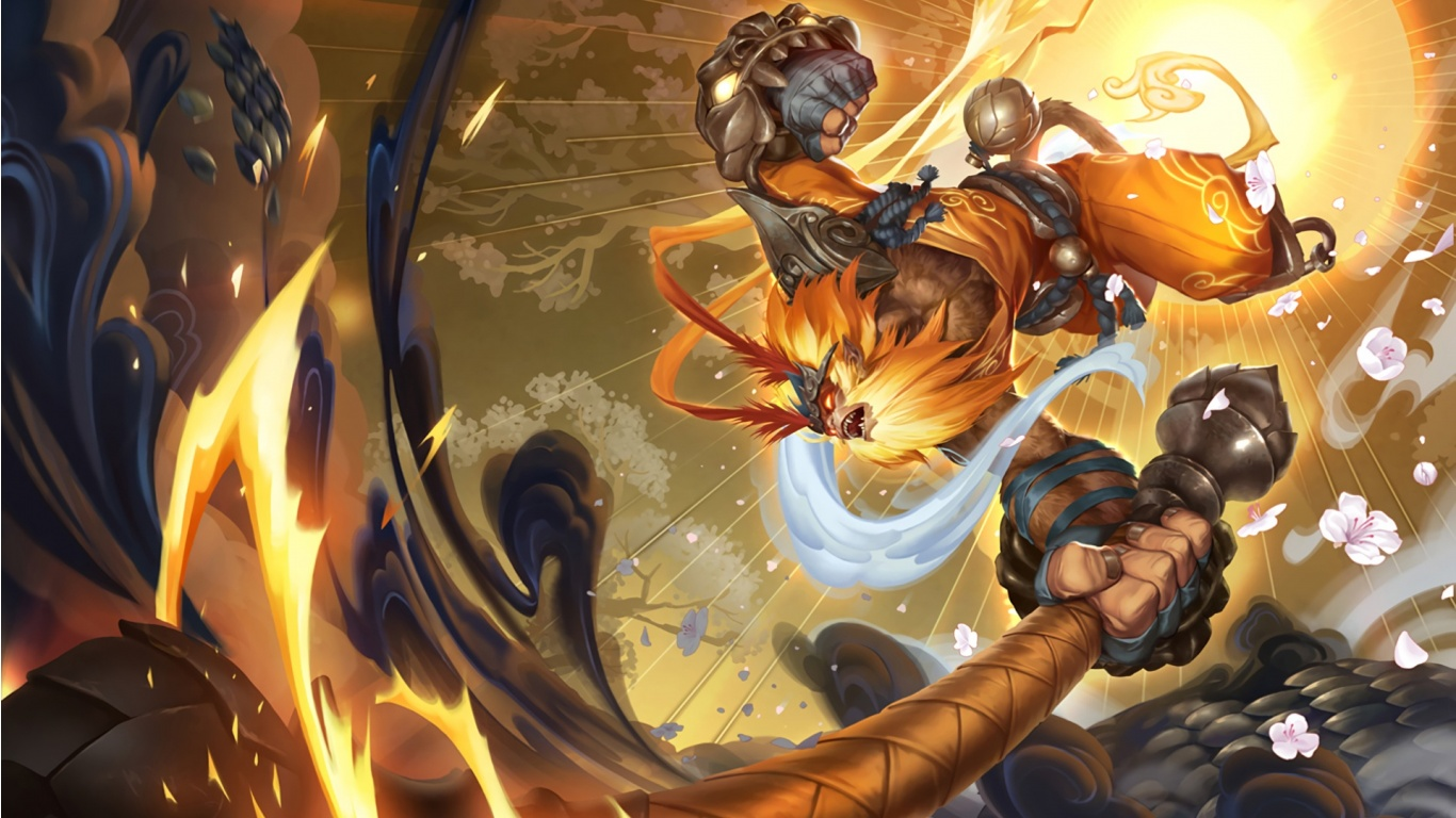 Radiant Wukong Art League Of Legends