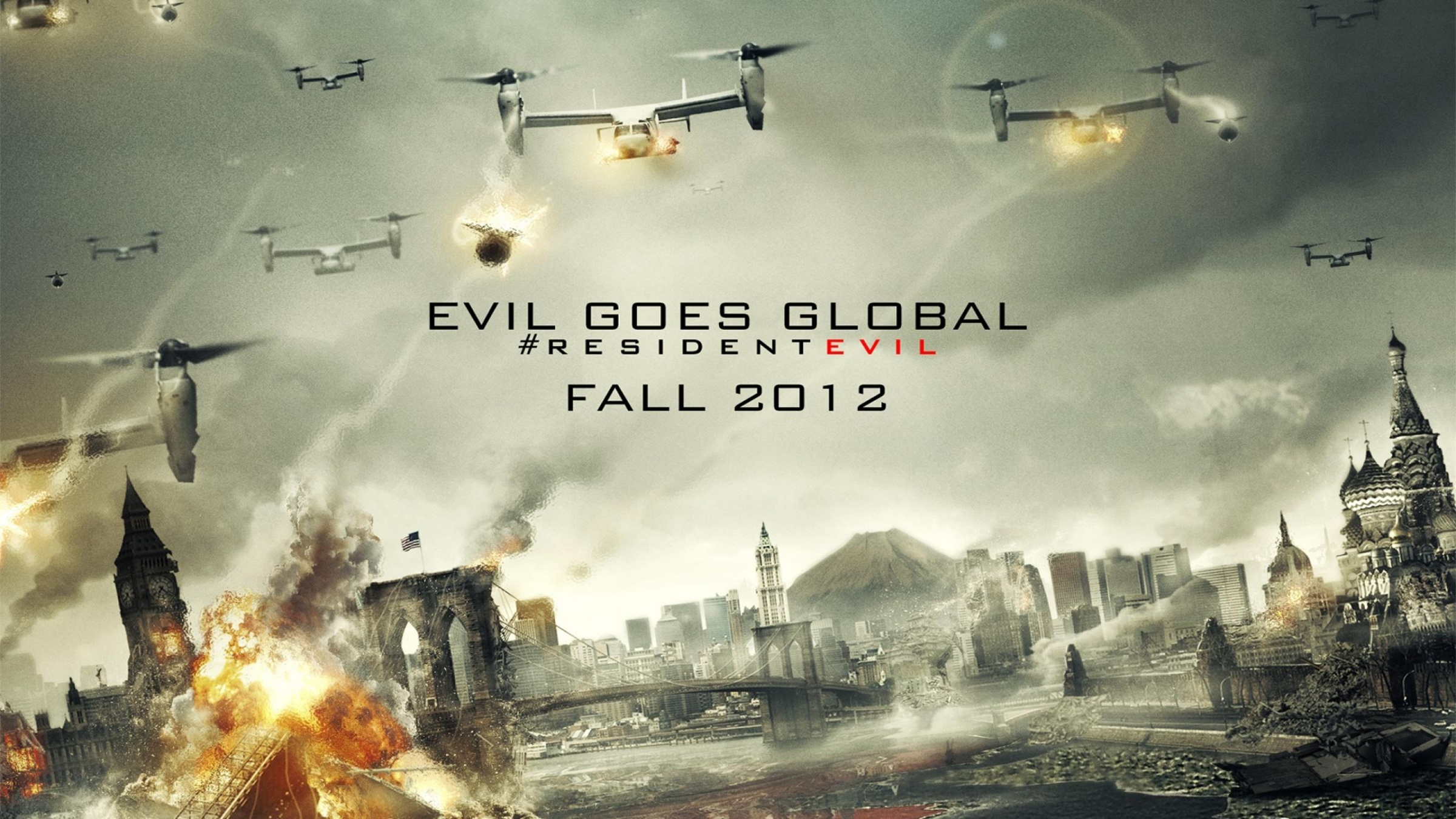 Resident Evil Retribution 2012