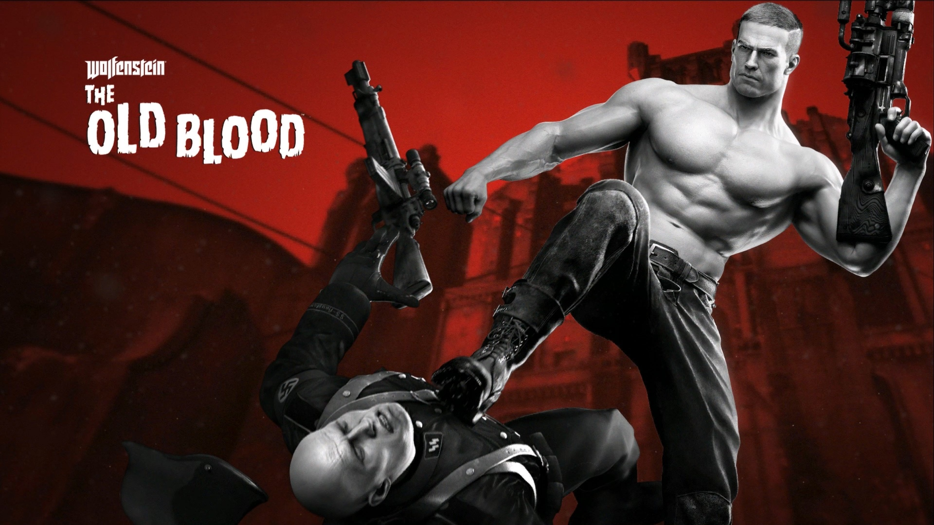 Retro Wolfenstein The Old Blood