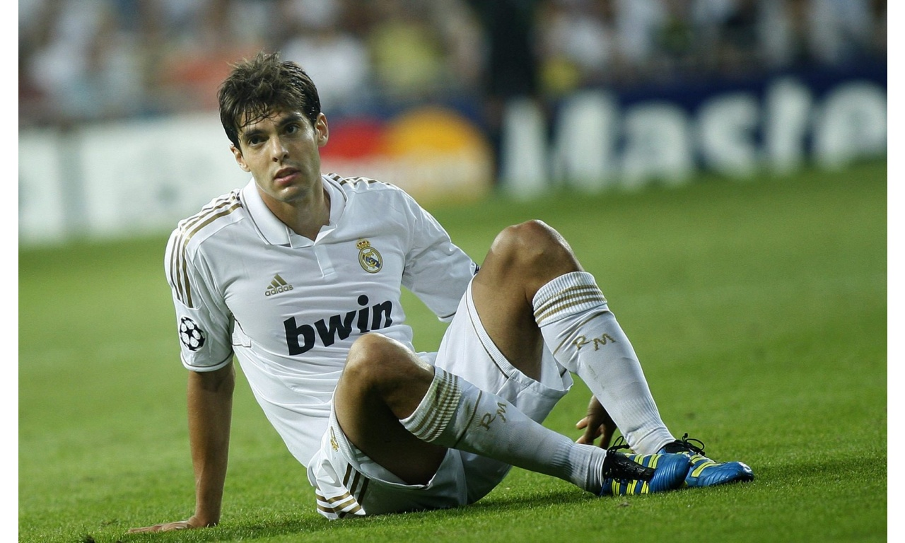 Ricardo Kaka Sitting On Grass