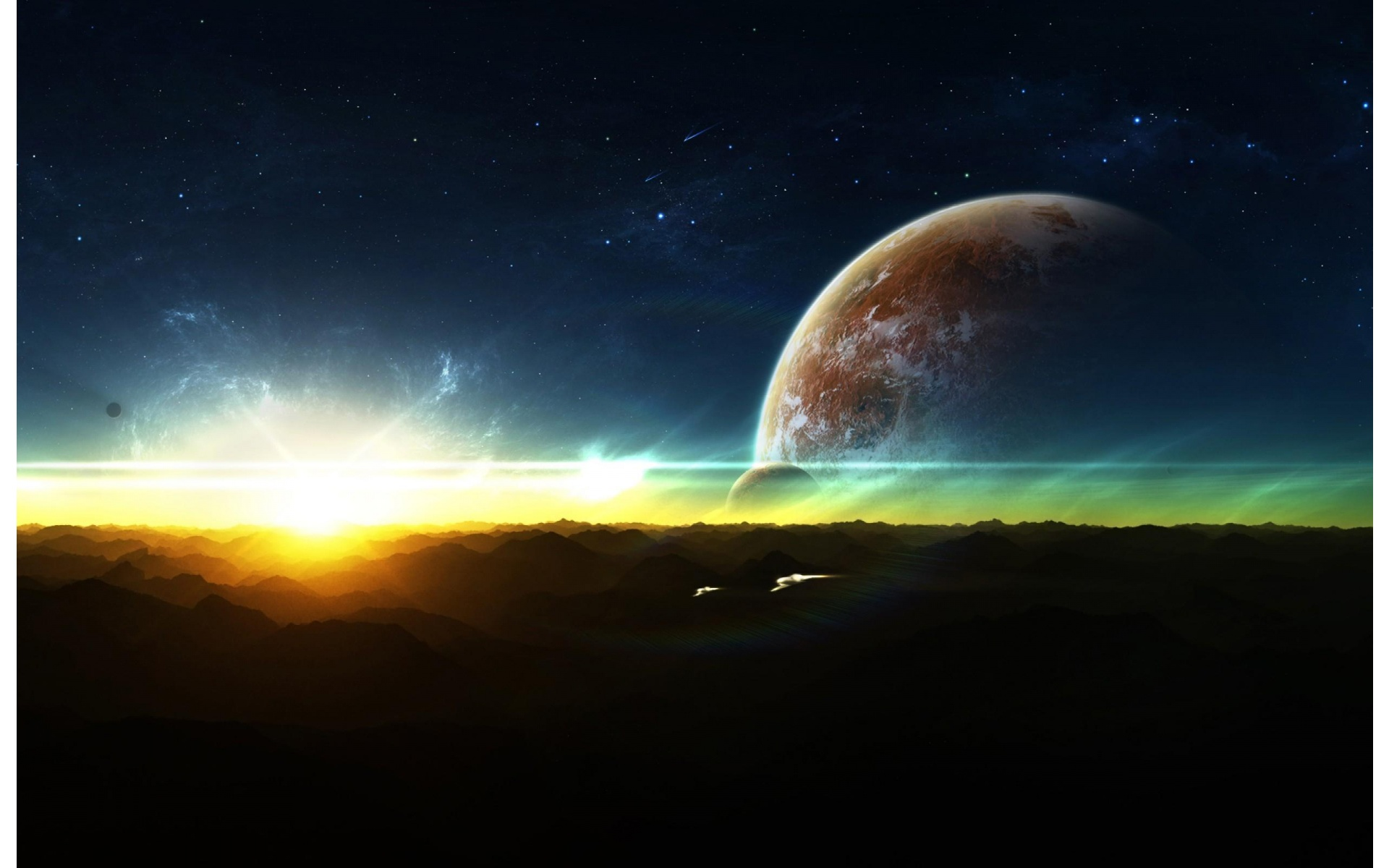Rising Space Wallpapers - 1920x1200 - 329995