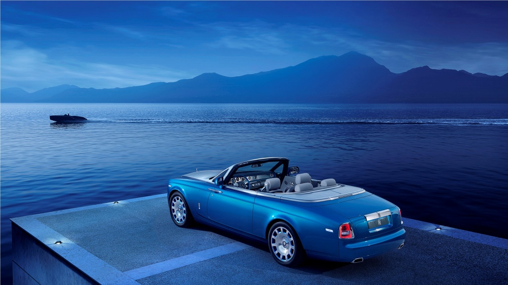 Rolls-Royce Phantom Drophead Coupe Waterspeed Collection 2014