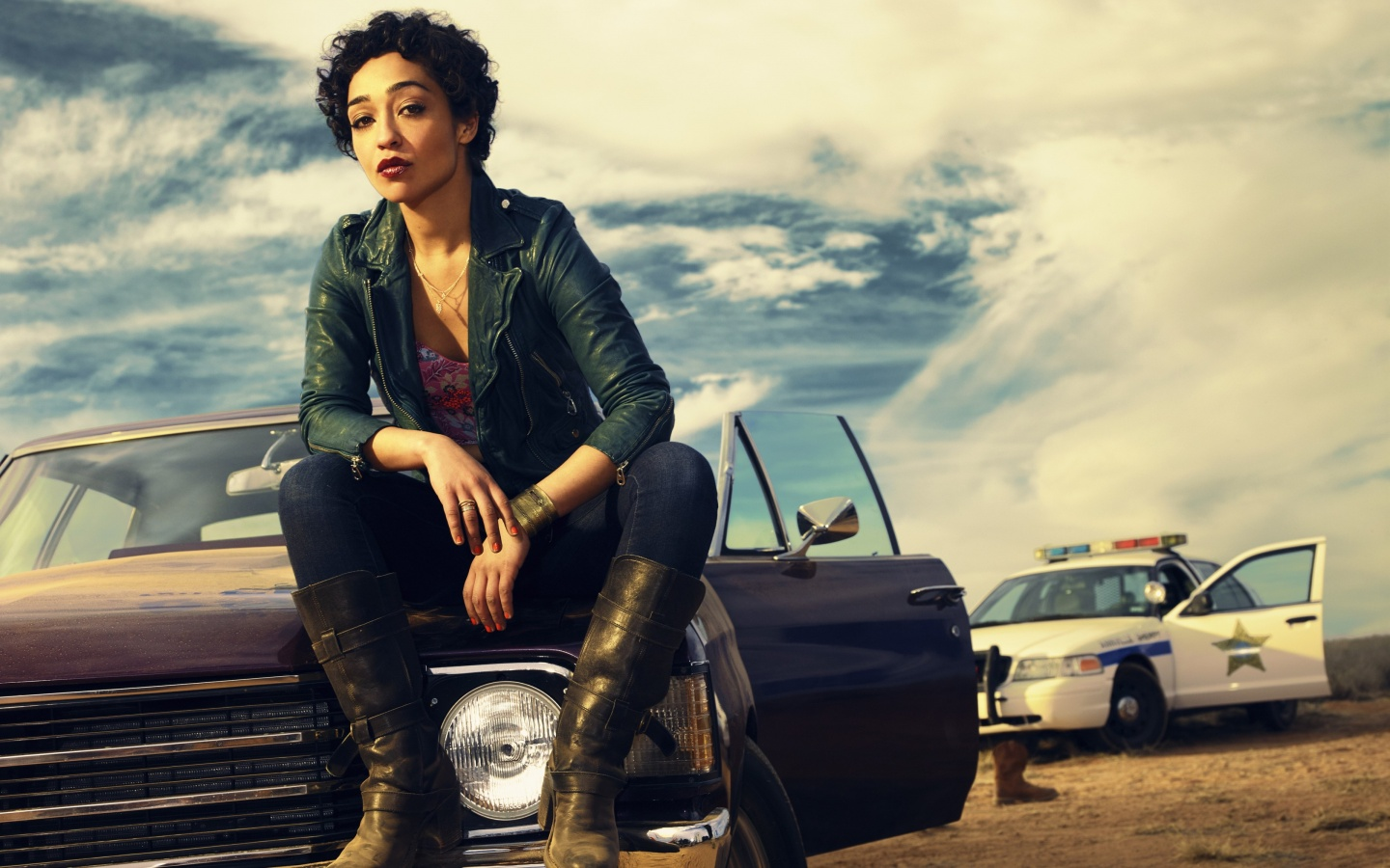 Ruth Negga In Preacher 2016