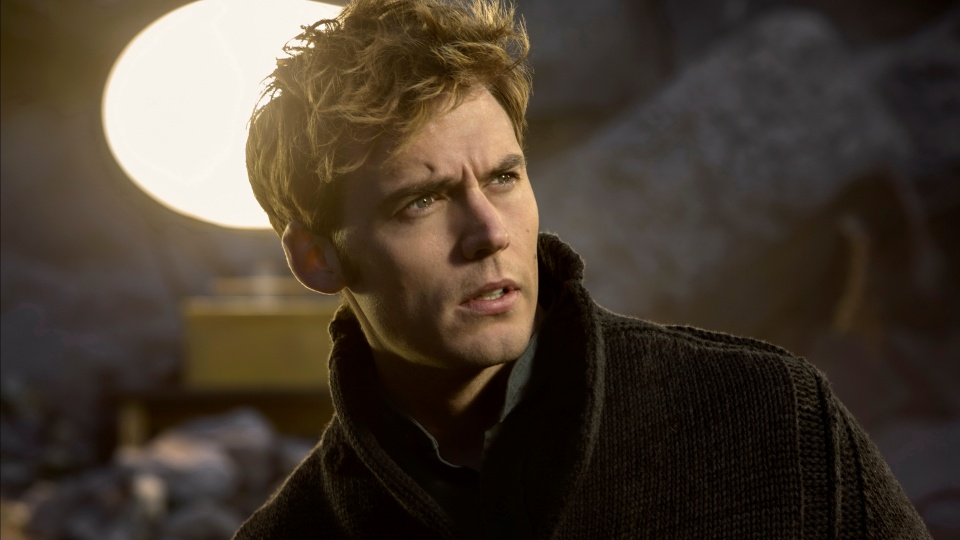 Sam Claflin As Finnick Odair The Hunger Games
