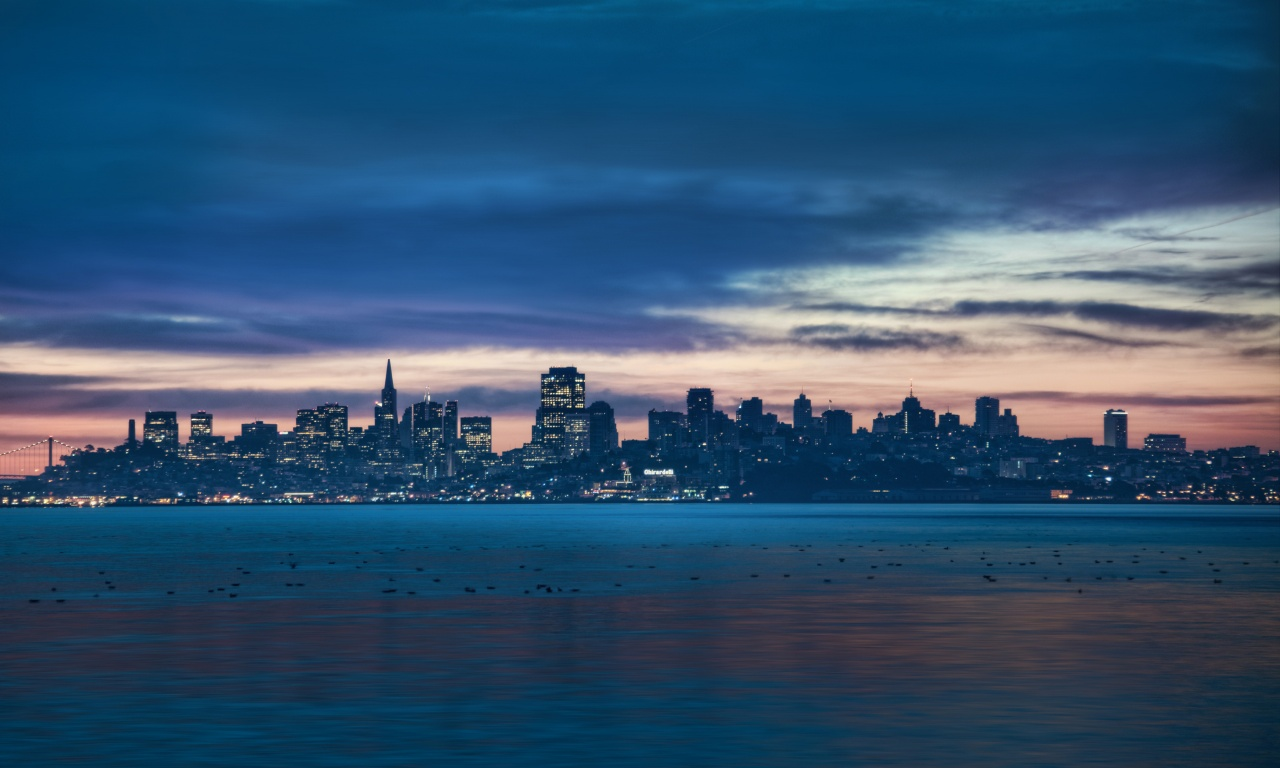 San Francisco The Night Skyline