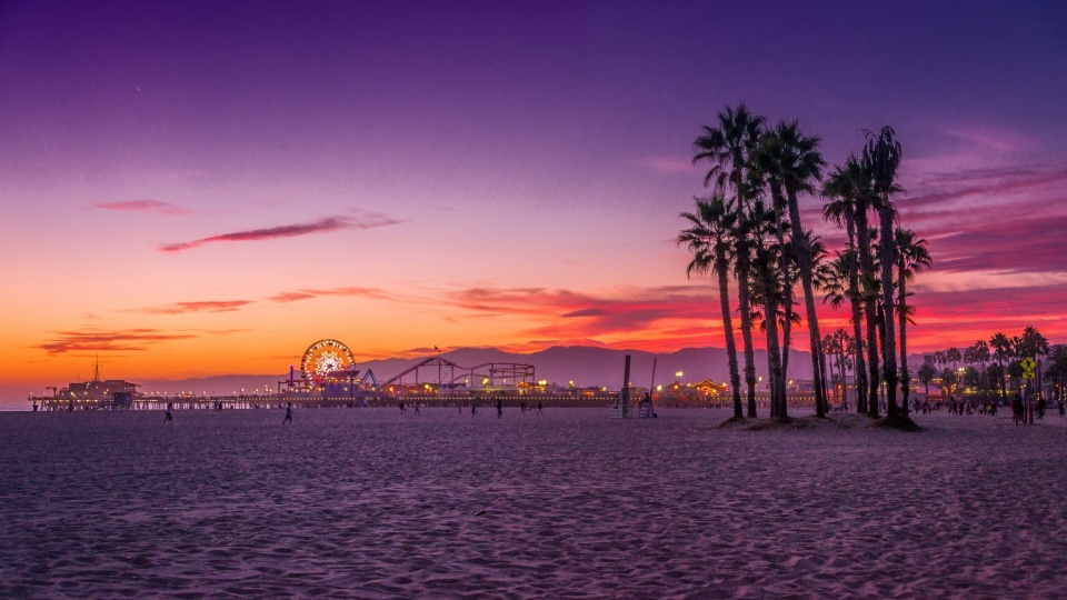 Santa Monica City California