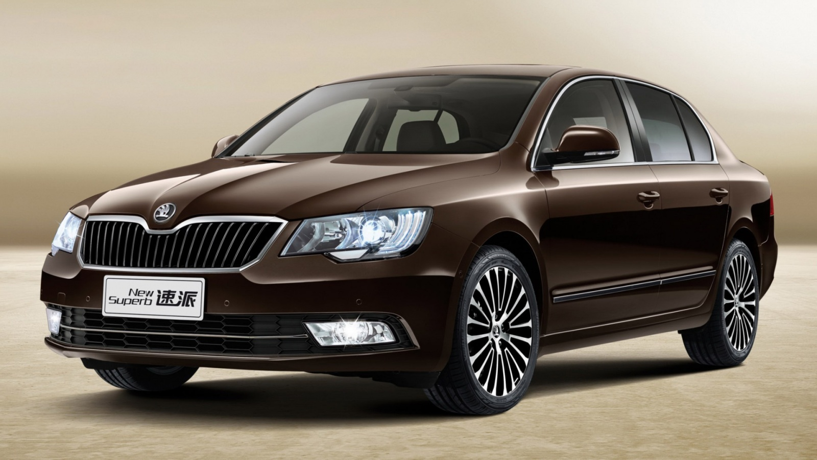 Skoda Superb China Version 2013