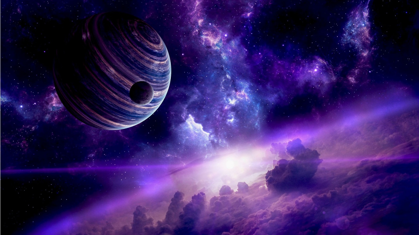 Space planet wallpapers 1366x768 299676 - Wallpaper 1366x768 space ...