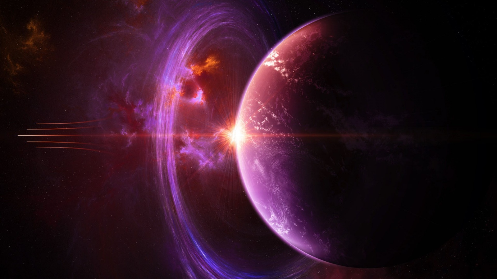 Space planet universe wallpapers 1600x900 274468 - Space wallpaper 1600x900 ...