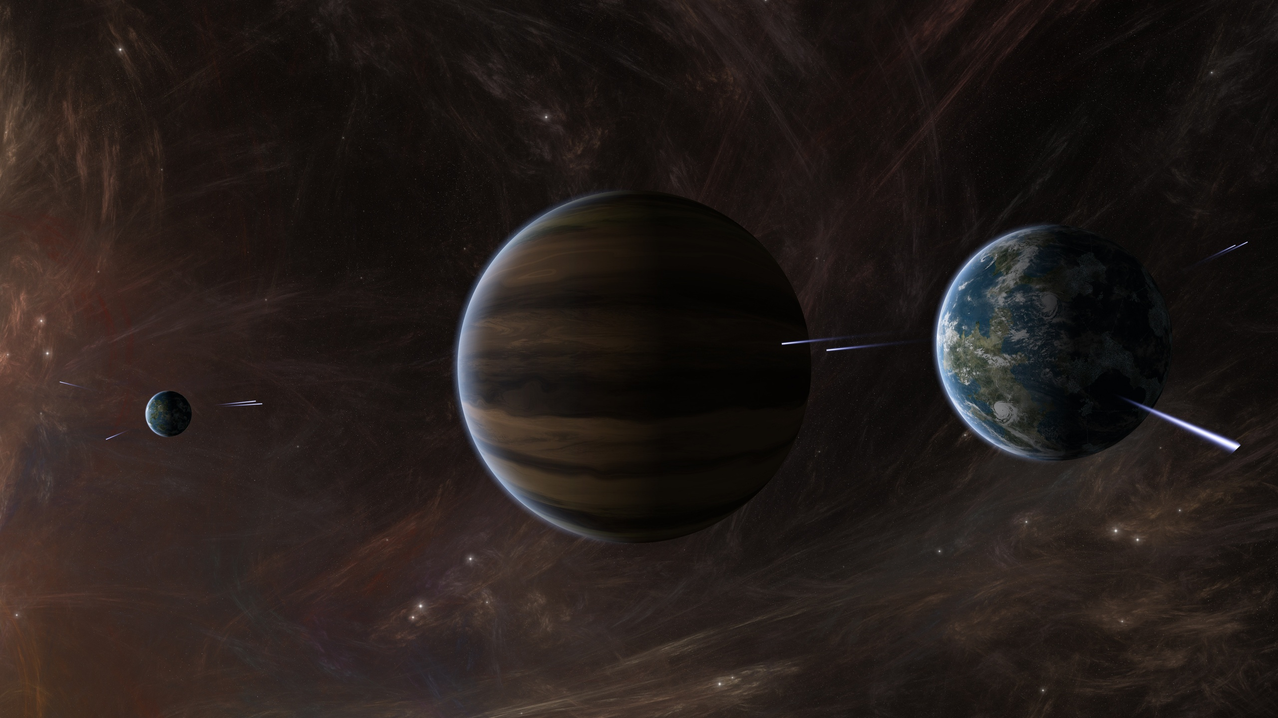 Space planets activity wallpapers 2560x1440 901170 - Space 2560 x 1440 ...