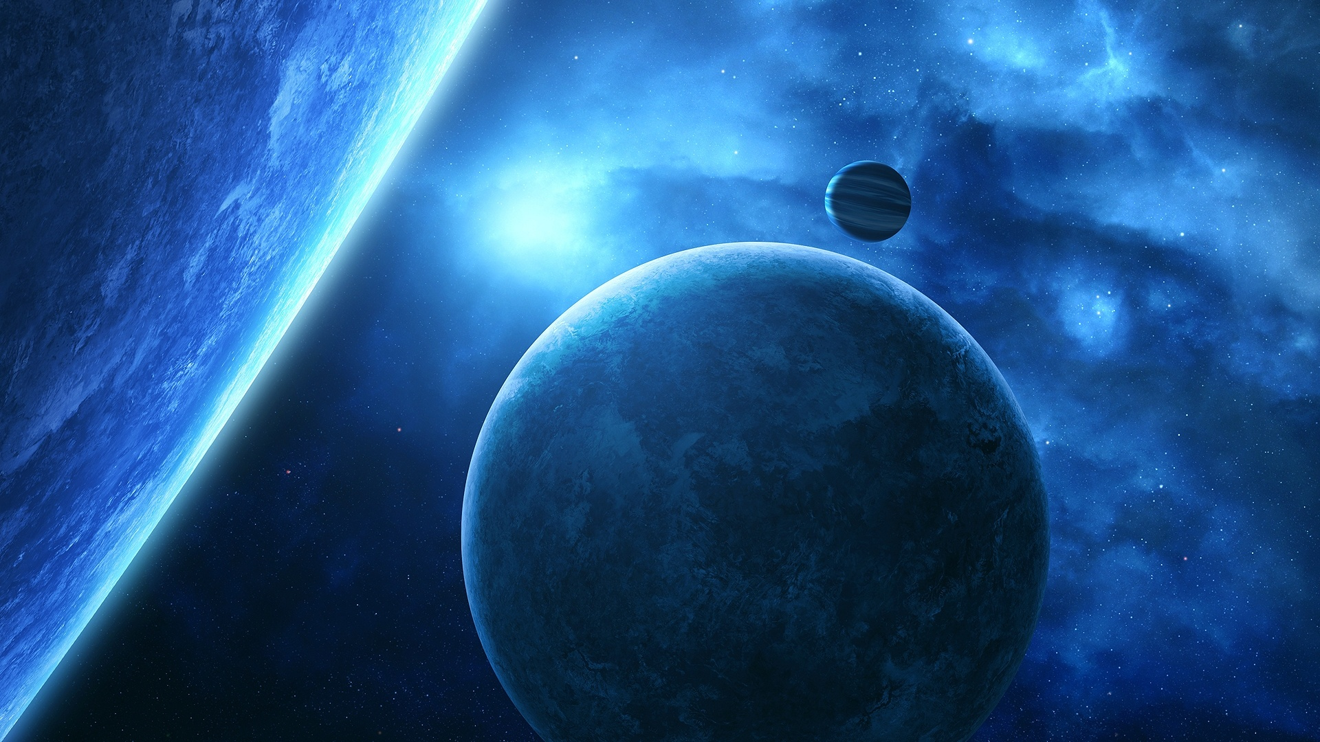 space planets moon - photo #14