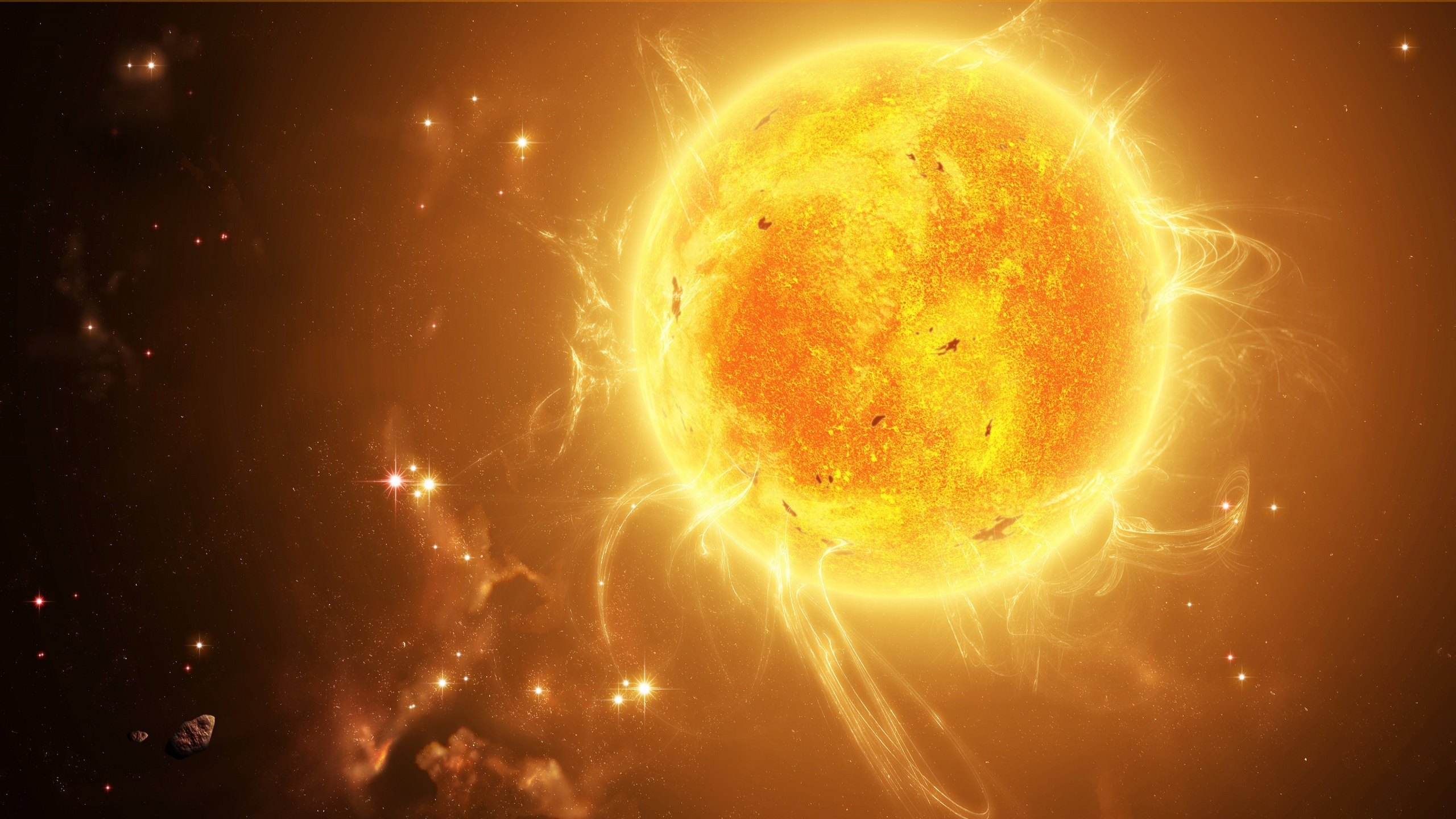Space sun wallpapers 2560x1440 1017902 - Space 2560 x 1440 ...