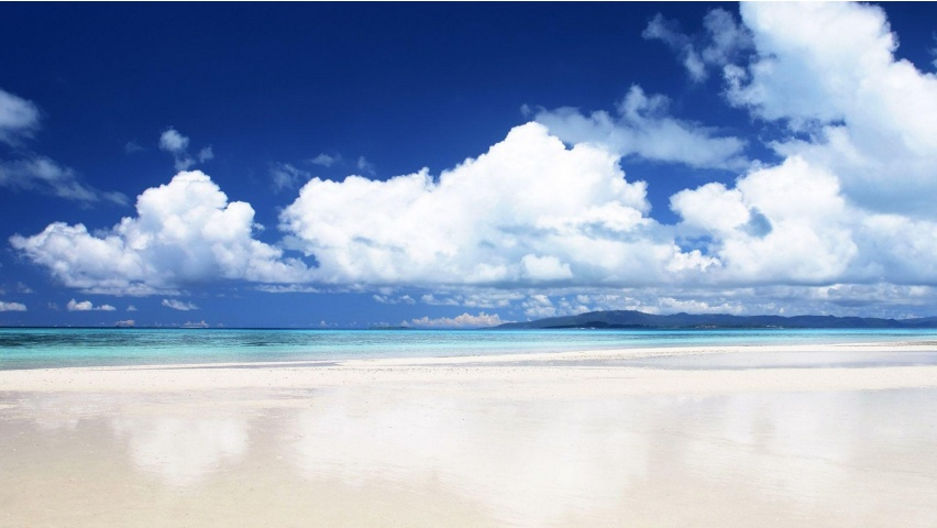 Spectacular White Sand Beach