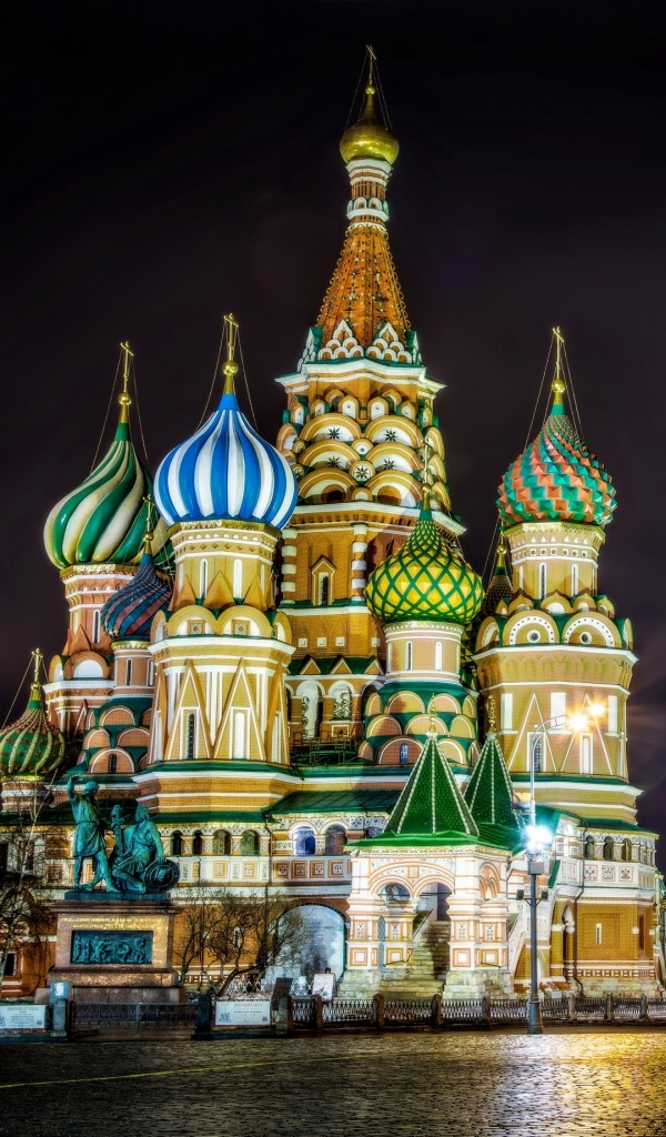 St Basil's Cathedral Moscow Lighting