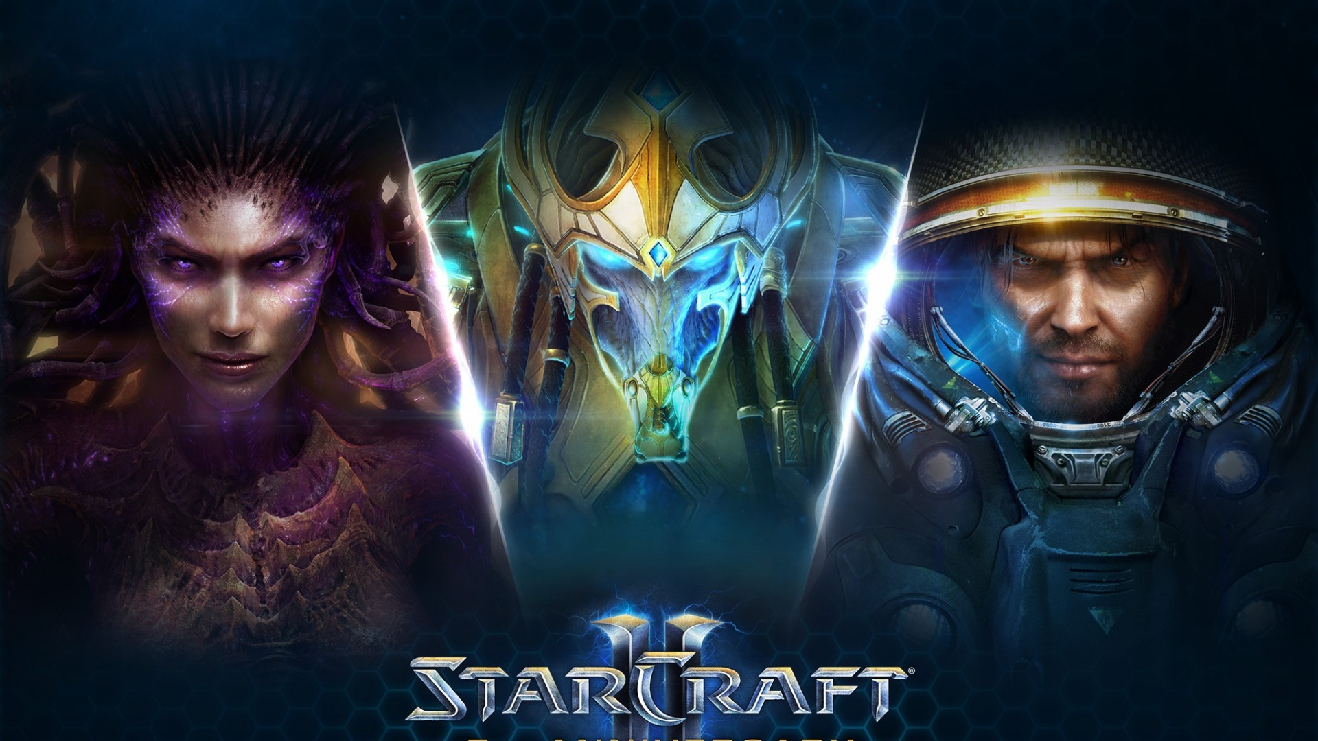 Starcraft 2 Legacy Of The Void Character Wallpapers