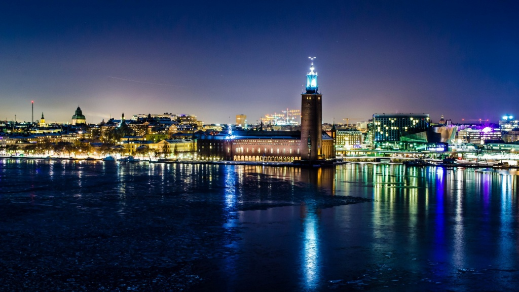 Stockholm Winter Night