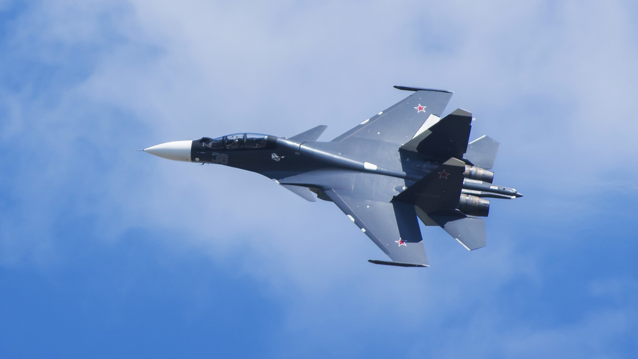 Su-30cm Double Multi-Purpose Fighter