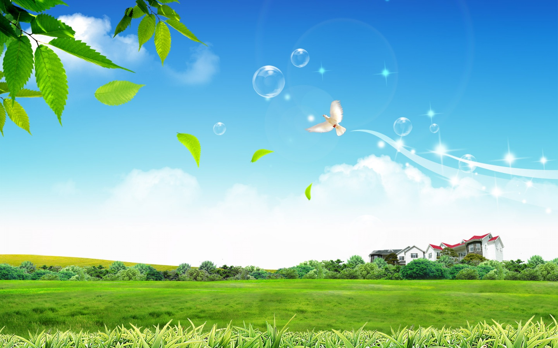 Summer Fantasy Landscape Wallpapers 1440x900 370644