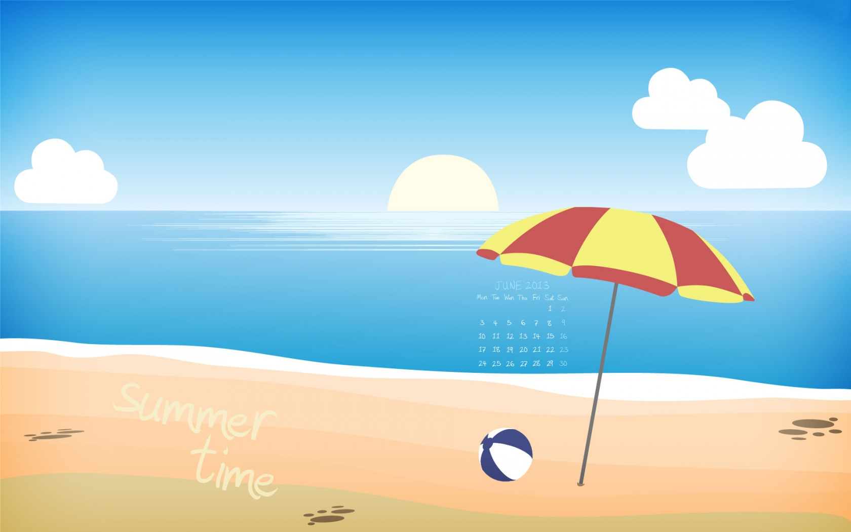 Summer Time June 2013  1680 x 1050  Download  Close