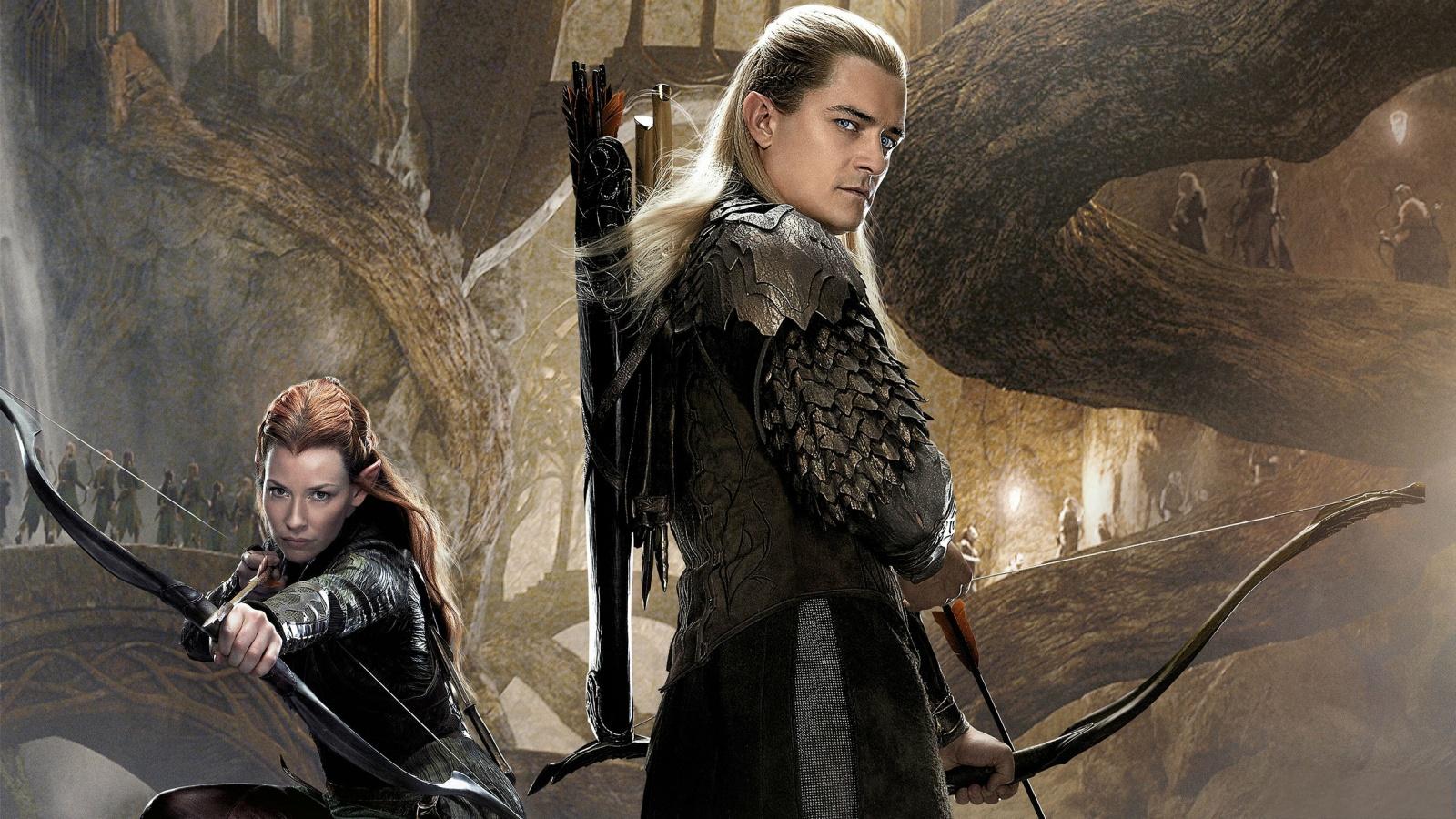 Tauriel Legolas In The Hobbit 2 Wallpapers - 1600x900 - 690360