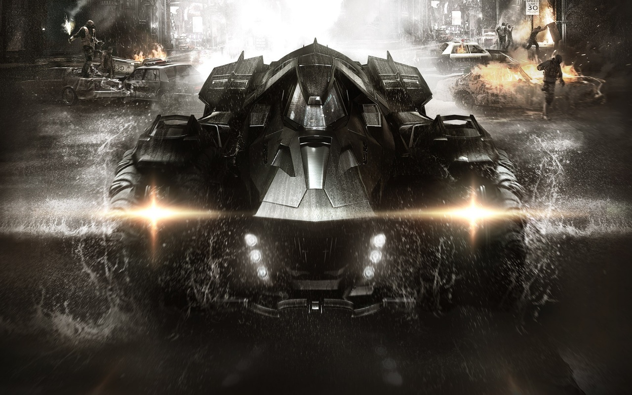 The Batmobile Batman Arkham Knight