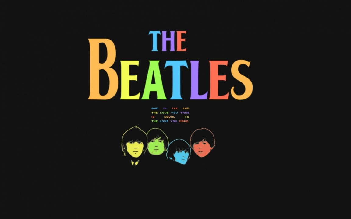 The Beatles Black